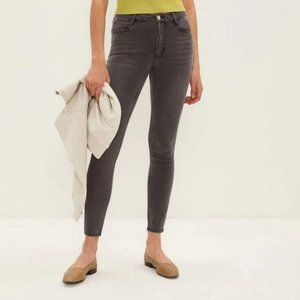 Frank & Oak Washed Grey Debbie Jeans Size 29
